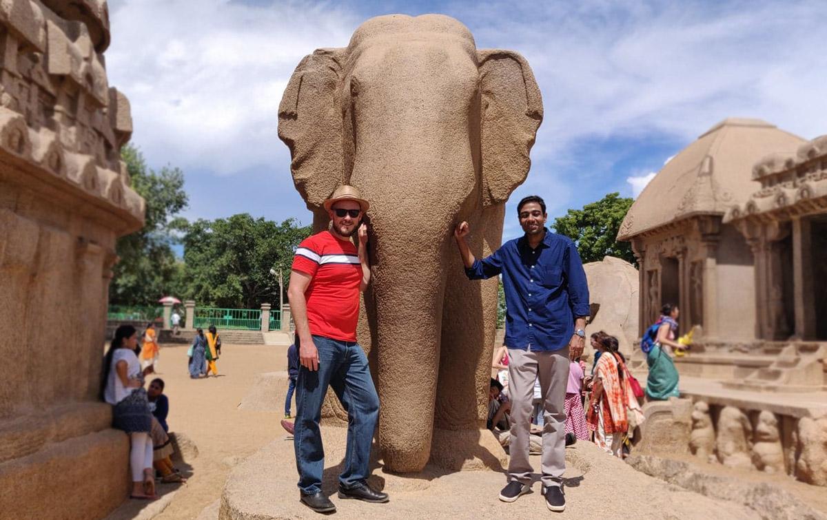 Konrad Braun - Indian Elephant Shrines