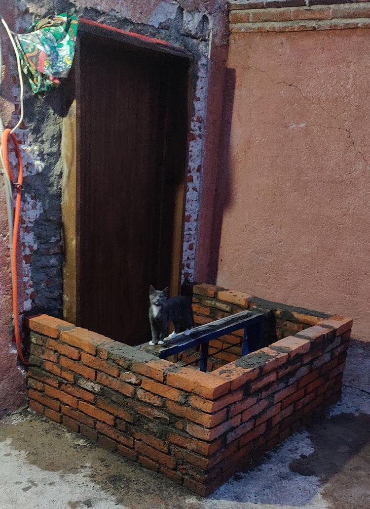 My DIY mining room wall!